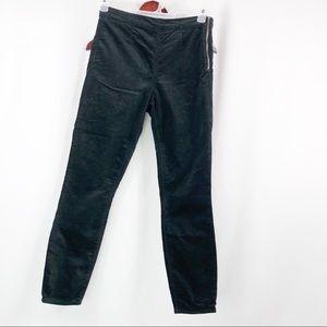 Gap Size Zip Velvet Legging